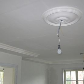 plafond met ornament